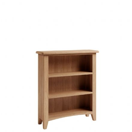 Geo Oak Wide Bookcase